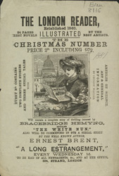 Advert for the London Reader